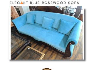 Blue Sofa: classic  by Wood Affair,Classic