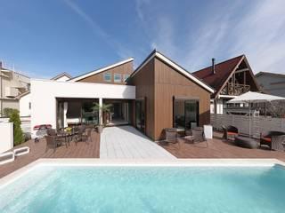 PROSPERDESIGN ARCHITECT OFFICE/プロスパーデザイン 庭院泳池 磁磚