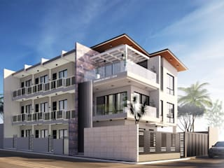 3 Storey Residential Apartment by House