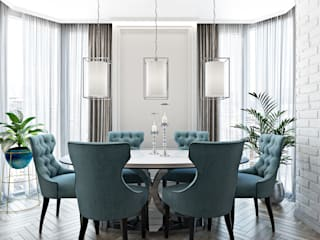 Студия дизайна интерьера квартир в Киеве belik.ua Classic style dining room
