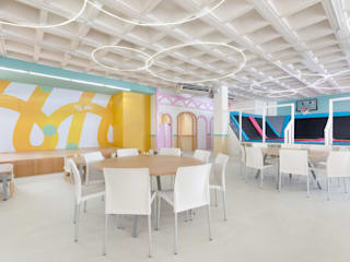 Modern event venues by ESTUDIO TANGUMA Modern