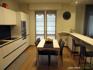 CASA B Cucina moderna di CARLO OMINI ARCHITETTO Moderno