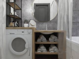 Студия дизайна интерьера квартир в Киеве belik.ua Minimalist bathroom