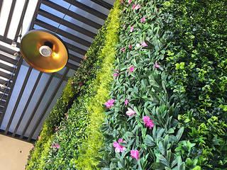 Follaje Sintetico // Tapiz Vegetal de Flora Urbana Minimalista