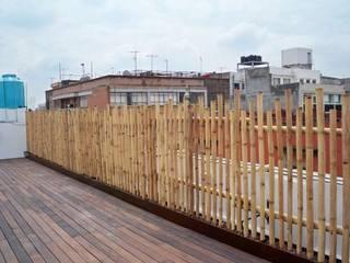 GRENBO Restaurantes Bambú Acabado en madera