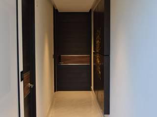 Proyecto Domótica HAUS del Valle Pasillos, vestíbulos y escaleras modernos de Beqüem Moderno