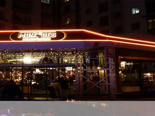Mon&Des Restaurant aydınlatması ve montajı Modern Bar & Kulüpler TECHNICLIGHT LED AYDINLATMA Modern