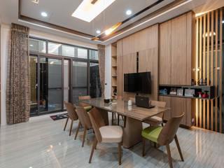 透天別墅 根據 美立達室內裝修工作室 現代風