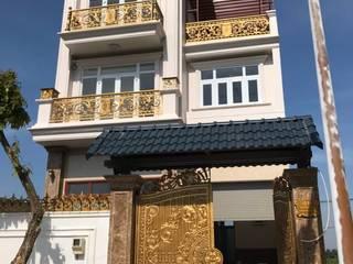 Xây dựng trọn gói biệt thự anh Hiếu Thảo Điền Quận 2: Châu Á  by TNHH xây dựng và thiết kế nội thất AN PHÚ CONs 0911.120.739, Châu Á