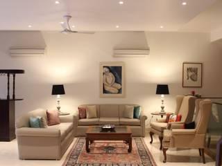 De Stijl House Classic style living room by Amit Khanna Design Associates Classic