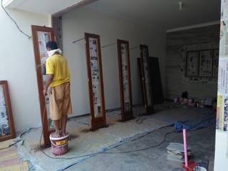 nggambaromah Garages & sheds Wood Brown