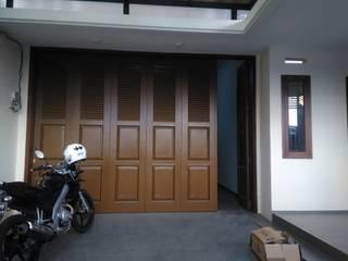 nggambaromah Garages & sheds Metal Brown