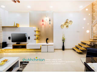 ROW HOUSE PROJECT: modern  by Shubhchintan Design possibilities,Modern