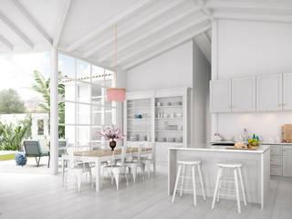 Cocinas de estilo moderno de Bconnected Architecture & Interior Design Moderno