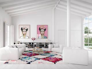 Salones de estilo moderno de Bconnected Architecture & Interior Design Moderno