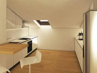 CASA F Cucina moderna di CARLO OMINI ARCHITETTO Moderno