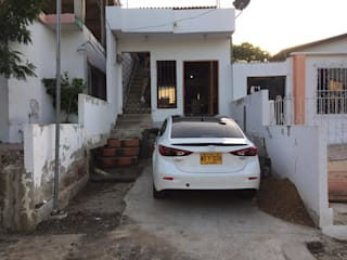 REJAS + PORTÓN EN ALUMINIO - Casa Johan - Cartagena de Juliano.Arquitectos Moderno