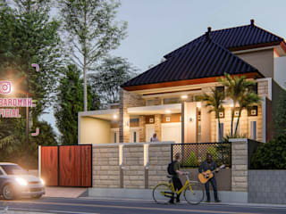 The Countryside Palmahouse:modern  oleh nggambaromah, Modern