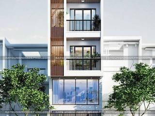 Modern houses by Công ty xây dựng nhà đẹp mới Modern