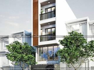 Công ty xây dựng nhà đẹp mới Rumah Modern