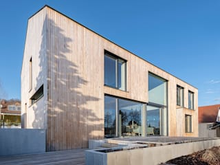 Jenohr + Mezger Wooden houses Wood Brown