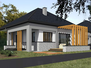 HOUSE DESIGN- Karolina Radoń od Karolina Radoń Design Nowoczesny