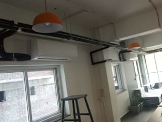 HVAC PROJECT IN MUMBAI Country style office buildings by A TO Z AIRCONDITIONING Country
