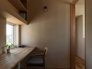 木津川の家 モダンデザインの 書斎 の HEARTH ARCHITECTS/ハース建築設計事務所 モダン
