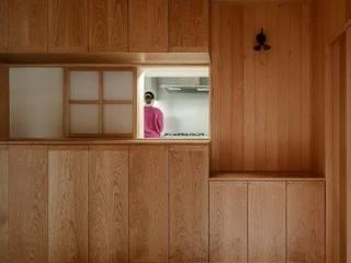 蓮華寺の家 和風の 玄関&廊下&階段 の HEARTH ARCHITECTS/ハース建築設計事務所 和風