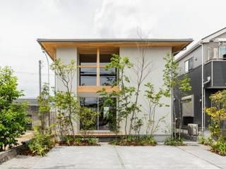 虫生野の家 モダンな 家 の HEARTH ARCHITECTS/ハース建築設計事務所 モダン