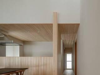 湖南の家 モダンスタイルの 玄関&廊下&階段 の HEARTH ARCHITECTS/ハース建築設計事務所 モダン