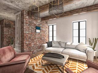 Leonardo B&B House Redesign Project Akdeniz Oturma Odası CRK İÇ MİMARLIK Akdeniz