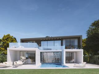Casas de estilo minimalista de Pacheco & Asociados Minimalista