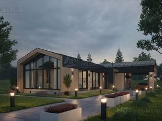 Проект одноэтажного дома Пирогово 2 Дома в скандинавском стиле от СК Медный Всадник Скандинавский