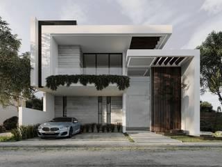 Aventúrate a construir la casa que has imaginado todo este tiempo. Casas modernas de Rebora Arquitectos Moderno