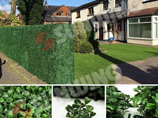 Artificial Living Wall for Privacy SUNWING GREEN Garden Plants & flowers Plastic Green