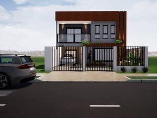 Reforma e Ampliação de Casa Popular Danilo Rodrigues Arquitetura Casas pequenas