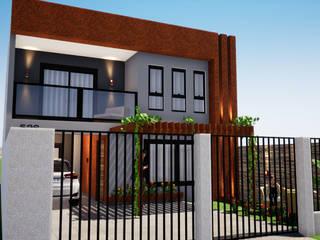 Reforma e Ampliação de Casa Popular Danilo Rodrigues Arquitetura Casas familiares