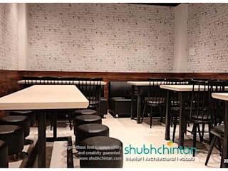 Restaurant Project Rustic style hotels by Shubhchintan Design possibilities Rustic