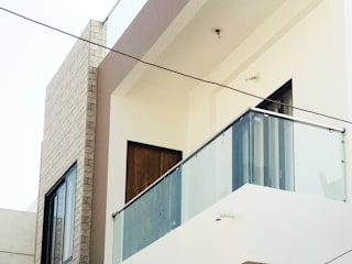 Bungalow - Kundan Modern houses by ZEAL Arch Designs Modern