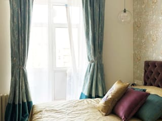 TB.Design Eclectic style bedroom