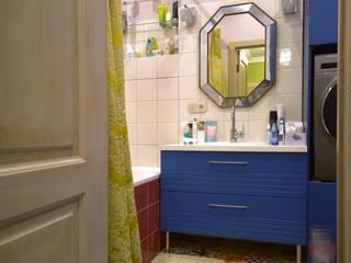TB.Design Eclectic style bathroom