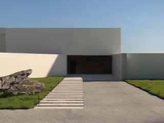Case in stile minimalista di Dmitriy Khanin Minimalista