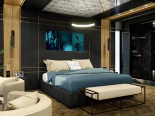 Ebeveyn yatak odası ANTE MİMARLIK Modern Yatak Odası