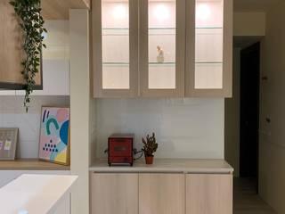量・光 榯榯空間設計/和倫營造有限公司 系統廚具
