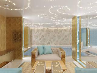 Piscinas de estilo clásico de Студия дизайна интерьера Руслана и Марии Грин Clásico