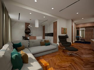 Modern Living Room by LEVI interior Modern