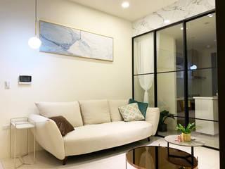 宏盛水悅 榯榯空間設計/和倫營造有限公司 客廳