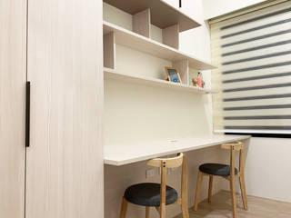 宏盛水悅 榯榯空間設計/和倫營造有限公司 書房/辦公室
