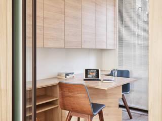 書房/孝親房 光合作用設計有限公司 Study/office Wood effect
